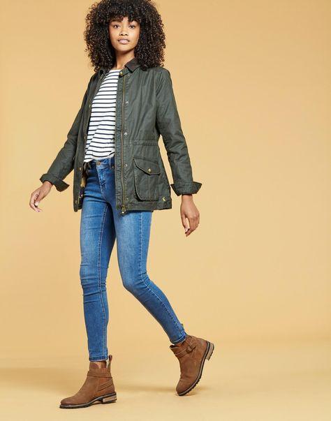 Joules Balmoral FREE Shipping UK (X) Jacket Style Wax