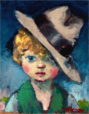 """Résultat de recherche d'images pour """"les enfants par Kees Van Dongen"""""""