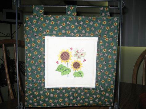 August Mini Quilt Embroidery Library Design Made By Alice