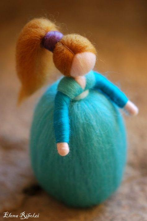 GIO Waldorf inspired fairytale wool by LeBambinediCaldalana