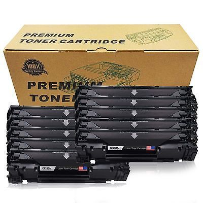 Ebay Link Ad 10pack Combo Black Cf283a 83a Toner H Y Fits Hp Laserjet Mfp M127fn M127fw M127 Printer Toner Toner Ebay