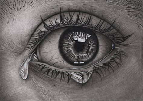 'Eye' Graphite and Charcoal drawing by Pen-Tacular-Artist on DeviantArt