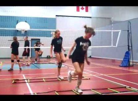 Volleyball Training Vertical Jump Programwmv In 2020 Volleyball Training Volleyball Workouts Volleyball Skills