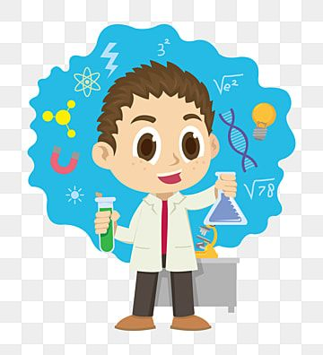 Ilustracao De Laboratorio Simple Cartoon Science Science Icons