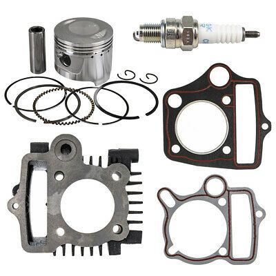 70cc Engine Piston Cylinder Gasket Top End Kit 1991-2012 Honda CRF70F CT70 XR70R