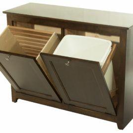 Image Result For Tilt Out Garbage Cabinet Plans Wood Laundry Hamper Laundry Hamper Rustic Storage
