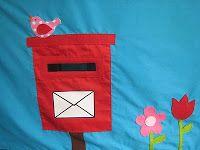 Tafeltent brievenbus