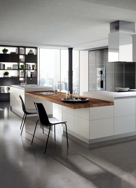 Fitted Kitchen Tetrix By Scavolini Cucine Di Lusso Cucine