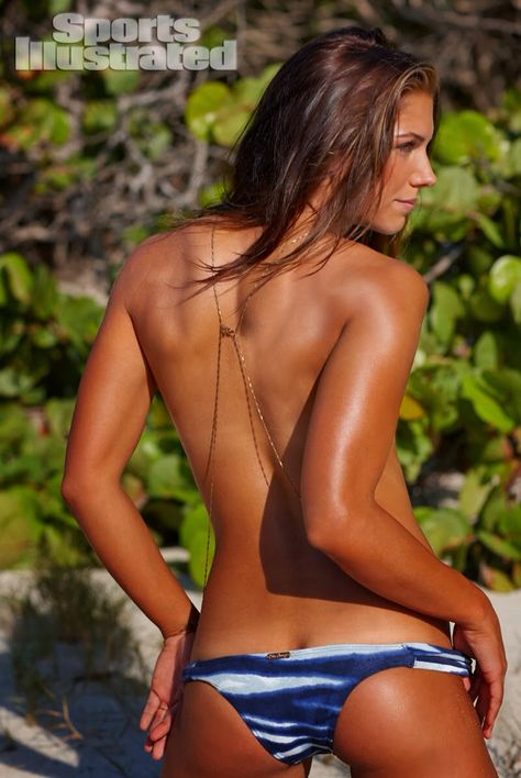 Alex Morgan - Sports Illustrated Body Paint Swimsuit Issue