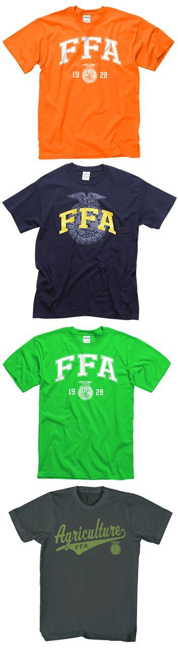 Pick your favorite $10 FFA logo tee now through April 6. http://shop.ffa.org/categories.aspx?Keyword=logo+tee&utm_source=Pin&utm_medium=pinned&utm_content=FFA%20logo%20gear&utm_campaign=46logosale