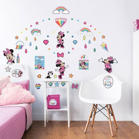 Mickey Mouse Muursticker.Disney Minnie Minniemouse Mickeymouse Muursticker Muurstickers
