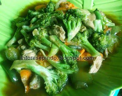 Tumis Brokoli Enak Brokoli Tumis Masakan Indonesia