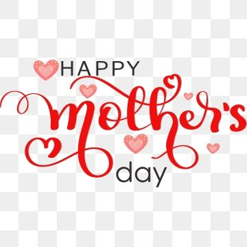 Happy Mothers Day Lettering With Hearts Of Love Mothers Day Happy Mothers Day Hearts Of Love Png And Vector With Transparent Background For Free Download Happy Mother S Day Calligraphy Happy Mothers