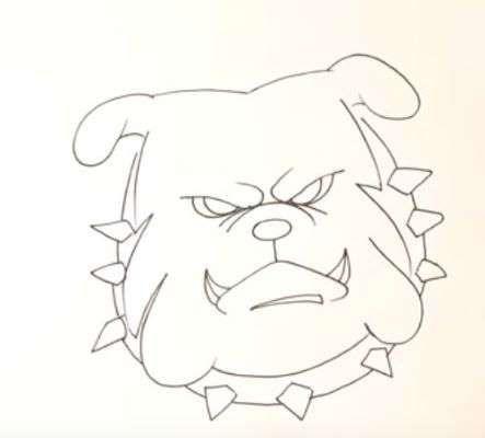 Aprende Como Dibujar Un Perro Bulldog Ingles Paso A Paso 7 Como Dibujar Un Perro Dibujos Faciles De Perros Como Dibujar
