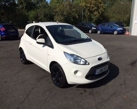 2016 Ford Ka Zetec White Edition 6 399 Used Ford Ford Cars