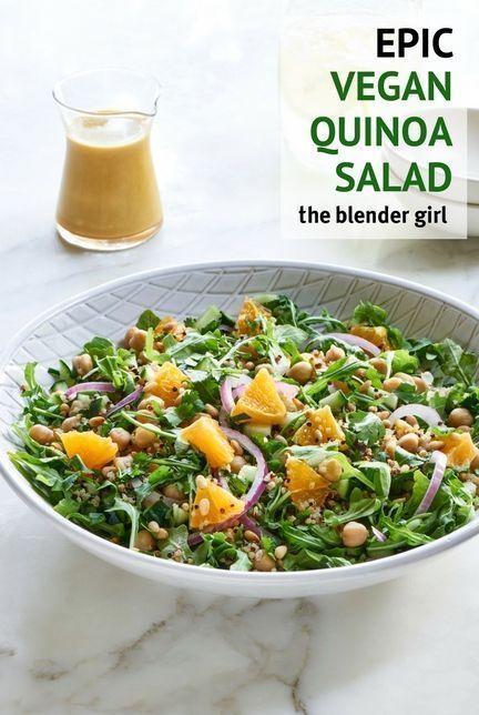 Quinoa Salad With Orange Dressing