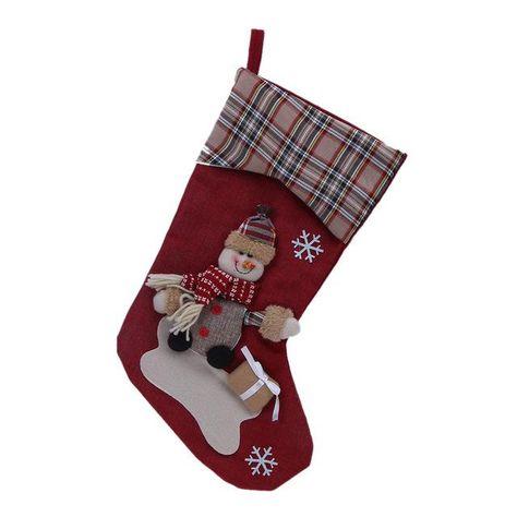 Christmas Stocking Sock Gift Bag