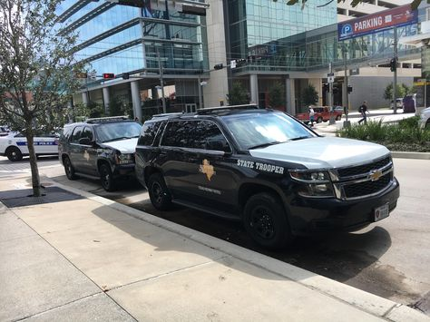 Texas Department Of Public Safety Chevy Tahoes Houston Police