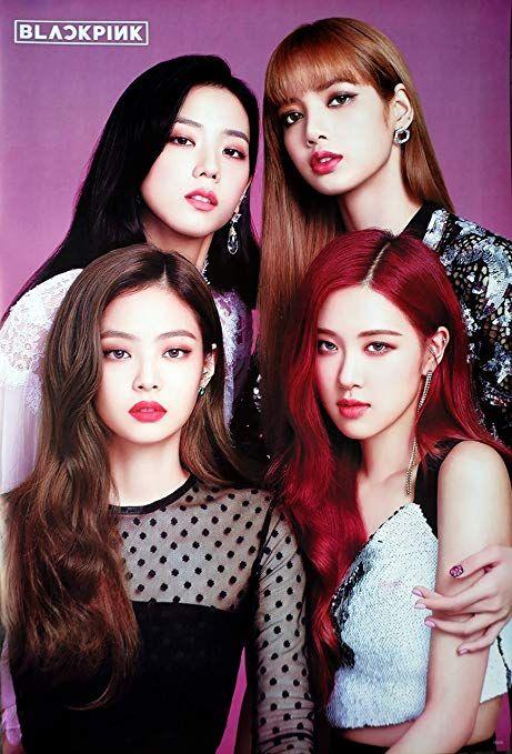 Amazon.com: Maxis Black Pink Blackpink Korean Kpop Girl