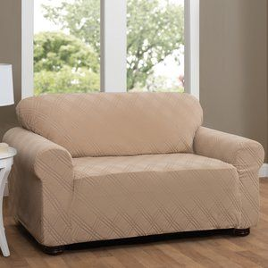 Double Diamond Sensations Box Cushion Sofa Slipcover Furniture Slipcovers Loveseat Slipcovers Slipcovers For Chairs