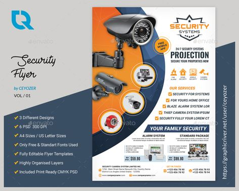 Security Systems Flyer