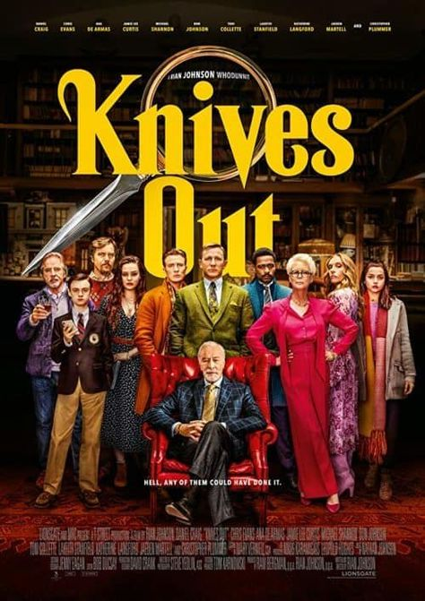 """Knives Out is in theaters this week for Thanksgiving. And while it doesn't make the Thanksgiving movies list, it should be on your list to see in the theater this year! Here are some of the sharpest Knives Out quotes from the movie. As Captain America would say, """"LANGUAGE!"""" 'cause Cap ain't in this movie, […] The post The Sharpest Knives Out Quotes appeared first on No-Guilt Life."""