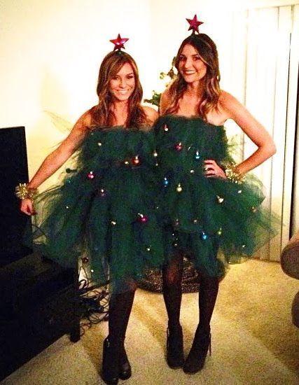 Fabriquez Vous Meme Un Costume D Arbre De Noel Idee De Deguisement De Noel Carnaval Sanctuai Christmas Tree Costume Christmas Tree Costume Diy Tree Costume