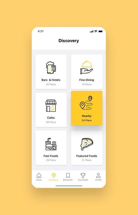 Foodiez Restaurant App UI Kit