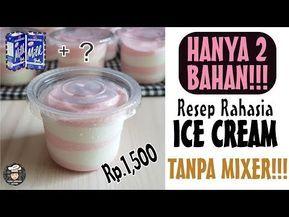 Tanpa Mixer 2 Bahan Resep Es Krim Ter Simple Cara Mmembuat Ice Cream Mudah Youtube Resep Es Krim Es Krim Es Krim Buatan Sendiri