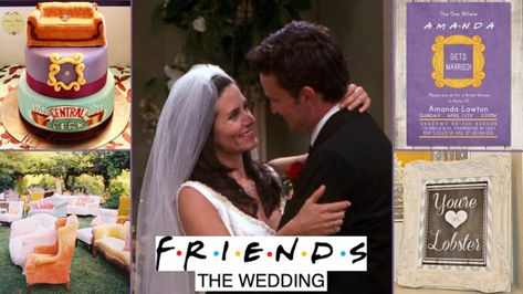Wedding inspiration: How to throw the ultimate Friends TV