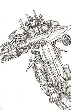 Optimus Prime Transformers Artwork Transformers Drawing Transformers Art
