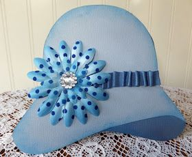 Paper Panacea Cloche To My Heart Shaped Cards Cards Handmade Paper Hat