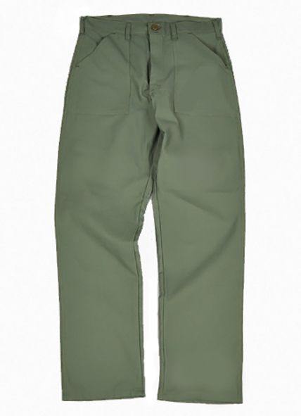 Basic Four Pocket Fatigue Pants Made In Usa Military Outfit Pants Khaki Chino Pants