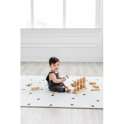 Little Bot Little Bot Baby Play Mat Ofie Mat Country Road Triangle Baby Play Mat Kids Playmat Baby Play