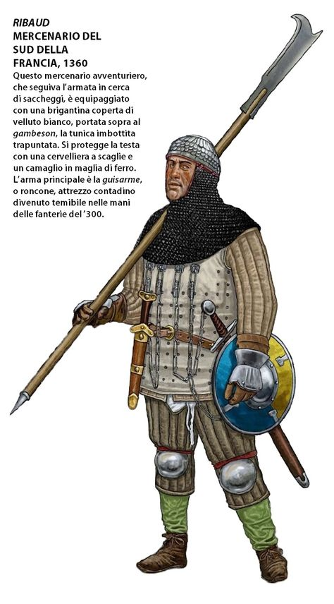 French mercenary in Italy (to the article about the Battle of Castagnaro).