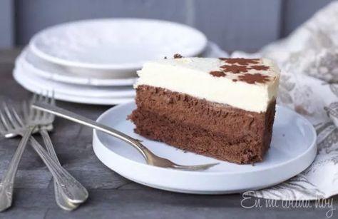 3 layer Chocolate Mousse cake @enmicocinahoy