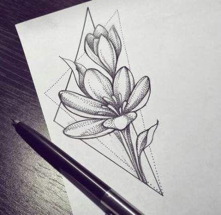 Best Flowers Design Drawing Tattoo Sketch Ideas Flower Drawing Design Tattoo Sketches Flower Sketches