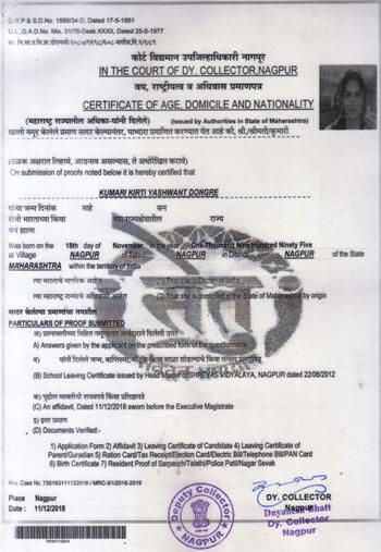 Pin By Kirti Dongre On Download The Collector Certificate