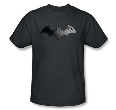190130a08 Arkham City Batman Symbol T-Shirt