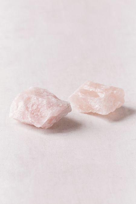 Natural Pink Rose Quartz Reiki Geode Candle Holder Chakra Healing Energy Stone