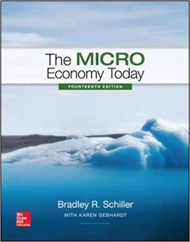 The Micro Economy Today 14th Edition Isbn 13 978 1259291814 Isbn 10 1259291812