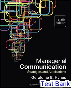 Managerial Communication Strategies And Applications 6th Edition E Test Bank Solutions Manual Test Bank Instant Download Web Design Quotes Communications Strategy Online Web Design