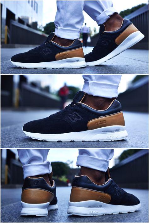ON-FOOT LOOK // NEW BALANCE 1500 DECONSTRUCTED BLACK/TAN