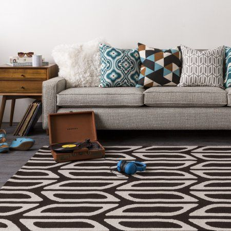 Home Geometric Rug Area Rugs Modern Pillows