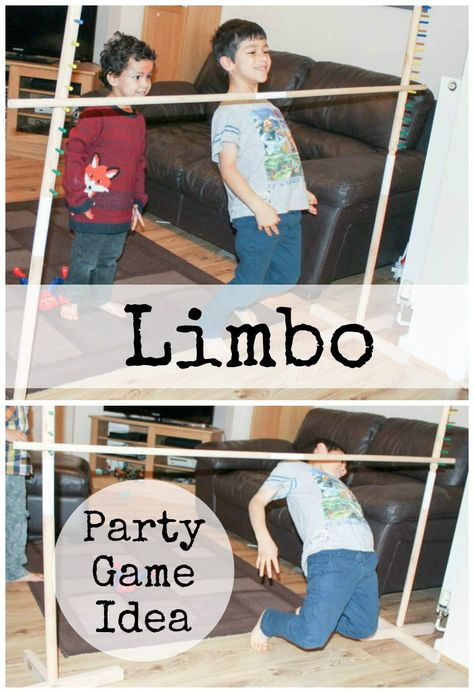 Limbo is a great way for kids to burn off their energy indoors during the winter