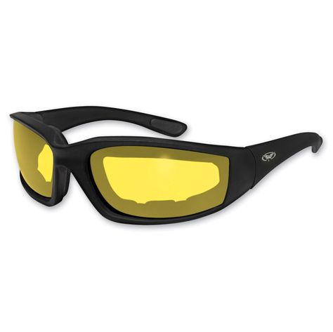 06f0a556edf Global Vision Eyewear Kickback Padded Sunglasses with Yellow Lens ...