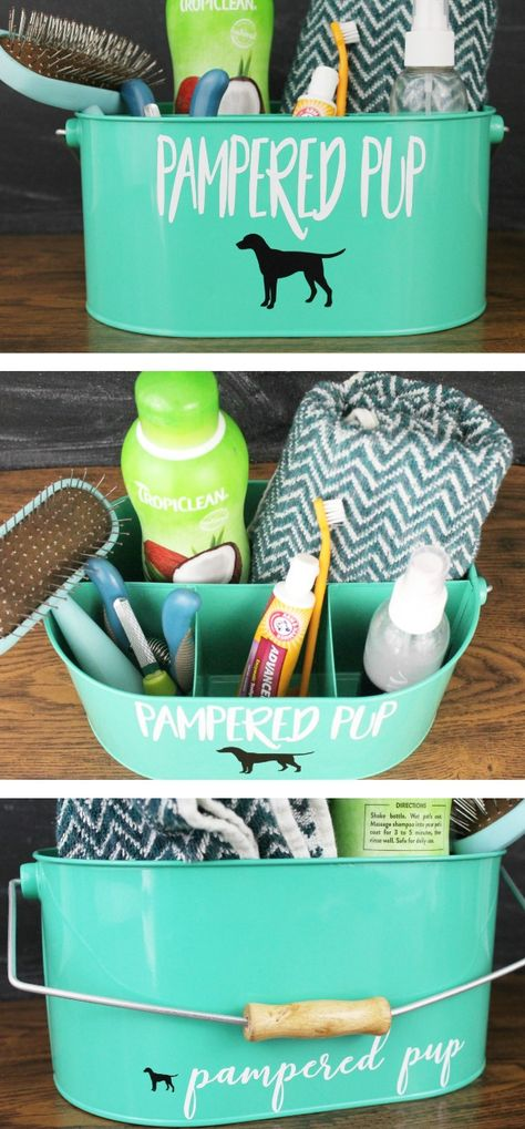 PUP GROOMING KIT Perfect DIY grooming kit for pets- plus 8 of the best dog grooming products that are must haves when owning a pup.Perfect DIY grooming kit for pets- plus 8 of the best dog grooming products that are must haves when owning a pup. Positive Dog Training, Training Your Puppy, Dog Training Tips, Potty Training, Dog Rooms, Dog Care Tips, Pet Tips, Pet Care, Grooming Kit