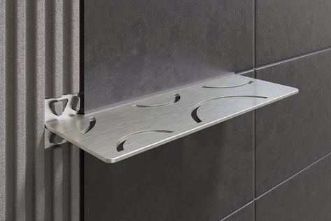 Eleganti Mensole A Parete Schluter Shelf W Per Docce Di Design