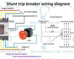 Shunt Trip Breaker Wiring Diagram Schneider from i.pinimg.com