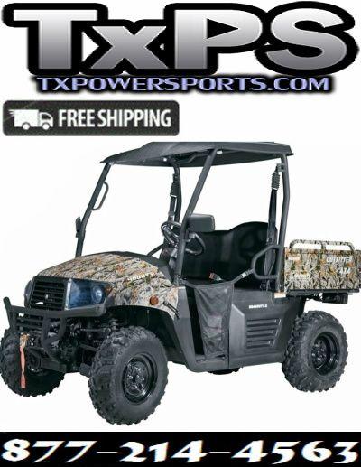 Cazador Outfitter 400 4x4 UTV EFI engine | UTVS | SIDE BY SIDE | 4x4